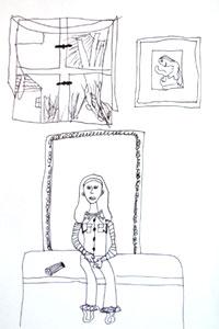 Charlotte Selbstportrait